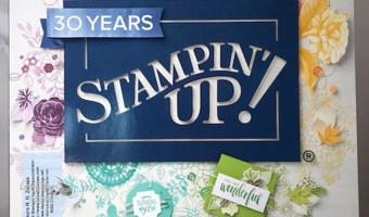 Happy 30th Anniversary Stampin' Up!