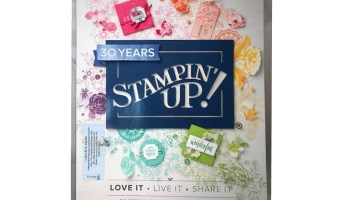New Stampin' Up! 2018-19 Catalog Unboxing and Open House info.
