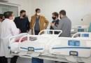 """Kicillof en el nuevo Hospital Respiratorio de Navarro: """"Es una obra que le cambia la vida al pueblo"""""""