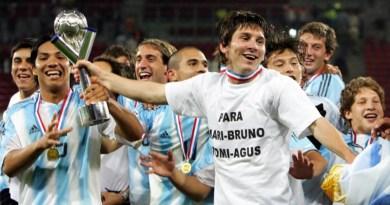 Con Messi como genio y figura, el Sub-20 de Argentina festejó en Holanda hace 15 años
