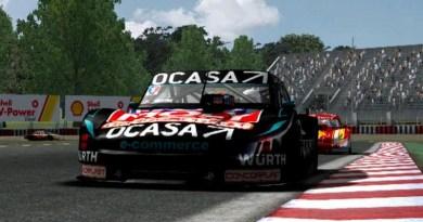 Pernía gana el TC virtual en Paraná