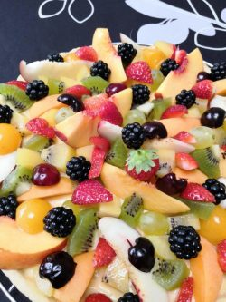 Tarte aux fruits (avec ou sans gluten)