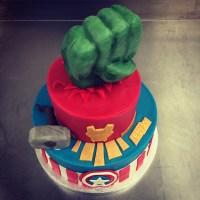 Gâteau super héros !