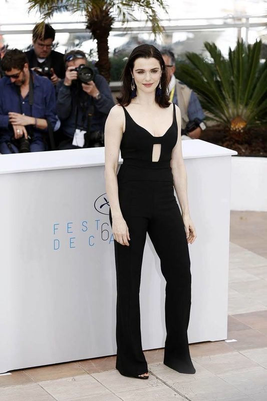 Black jumpsuits for Cannes Film Festival
