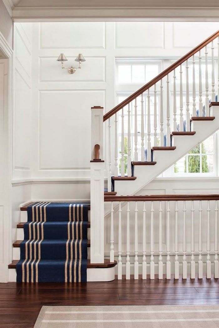 3 Common Staircase Design And Decor Mistakes What To Do Instead | Two Tone Stair Railing | White | Indoor | Antique | Mansion | Country Style