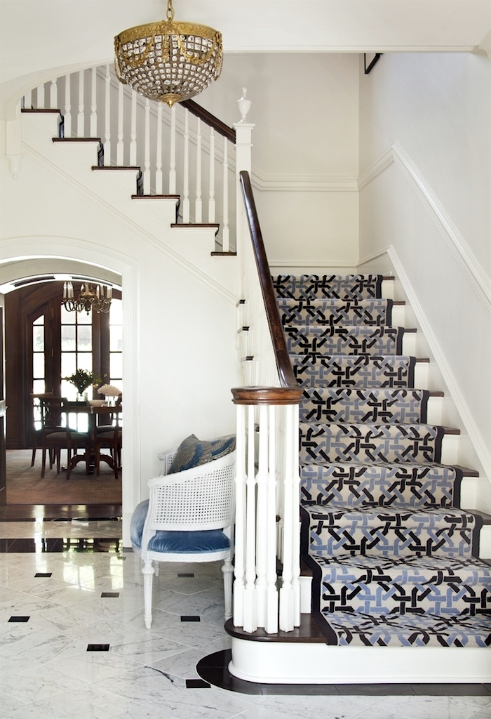 3 Common Staircase Design And Decor Mistakes What To Do Instead   White Handrails For Stairs Interior   Grey Treads   Safety   Richard Burbidge   Ship Lap   Aluminum