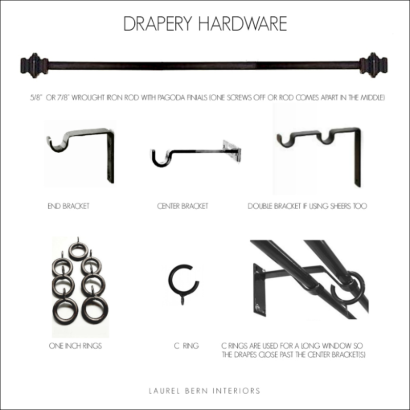 curtain and drapery hardware what you
