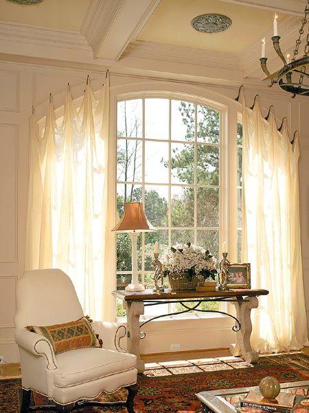 difficult windows window treatment
