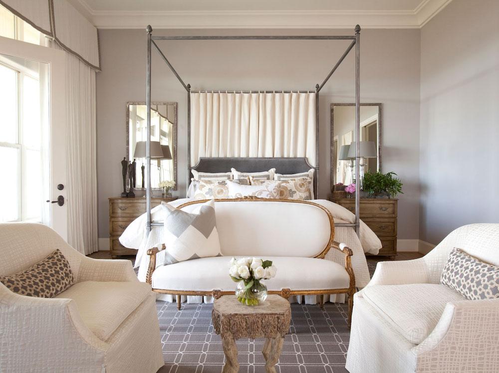 Julie Dodson Interior Design Bedroom Benjamin Moore Violet