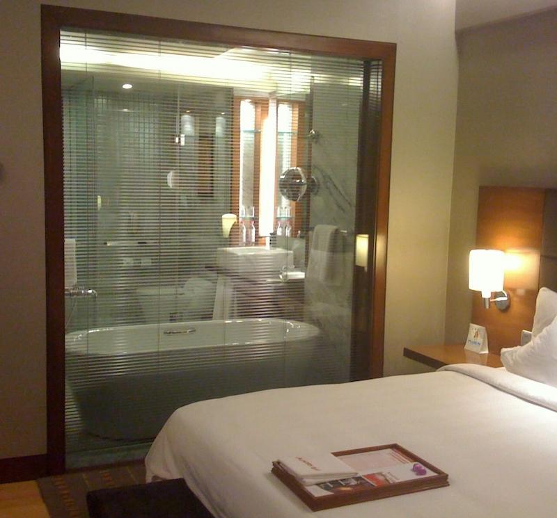 Master Bedroom Glass Wall Bathroom Novocom Top