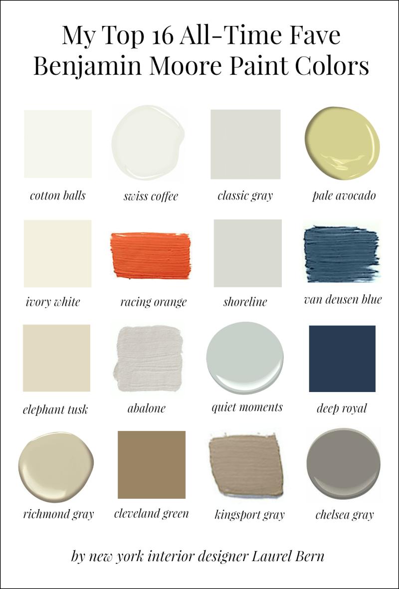 Best interior paint colors benjamin moore for Best indoor paint colors