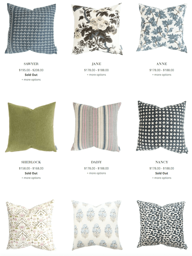 Cynthia Rowley Decorative Pillows Decor Love