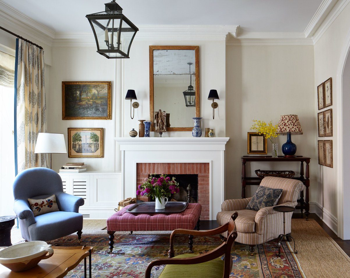 Living Room Mcgrath Ii English Country House Style White