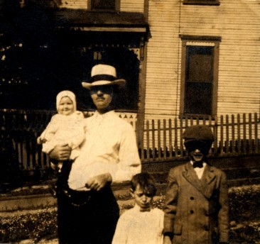 Samuel H. Black and children