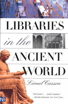 book cover of Libraries in the Ancient World