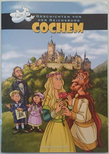 cover of graphic novel history of Cochem in German