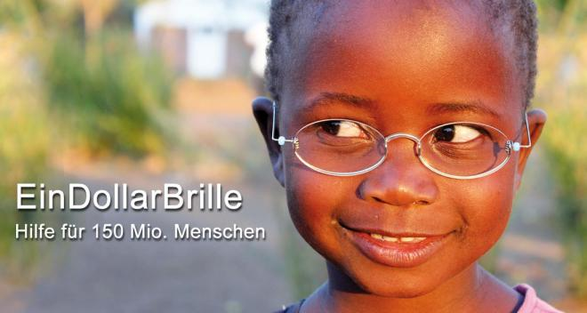 girl with a smile wearing one dollar glasses