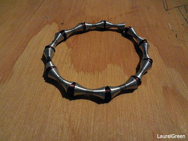 a photo of a bracelet