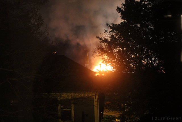 Lunenburg Nova Scotia Waterfront Fire Photo 13
