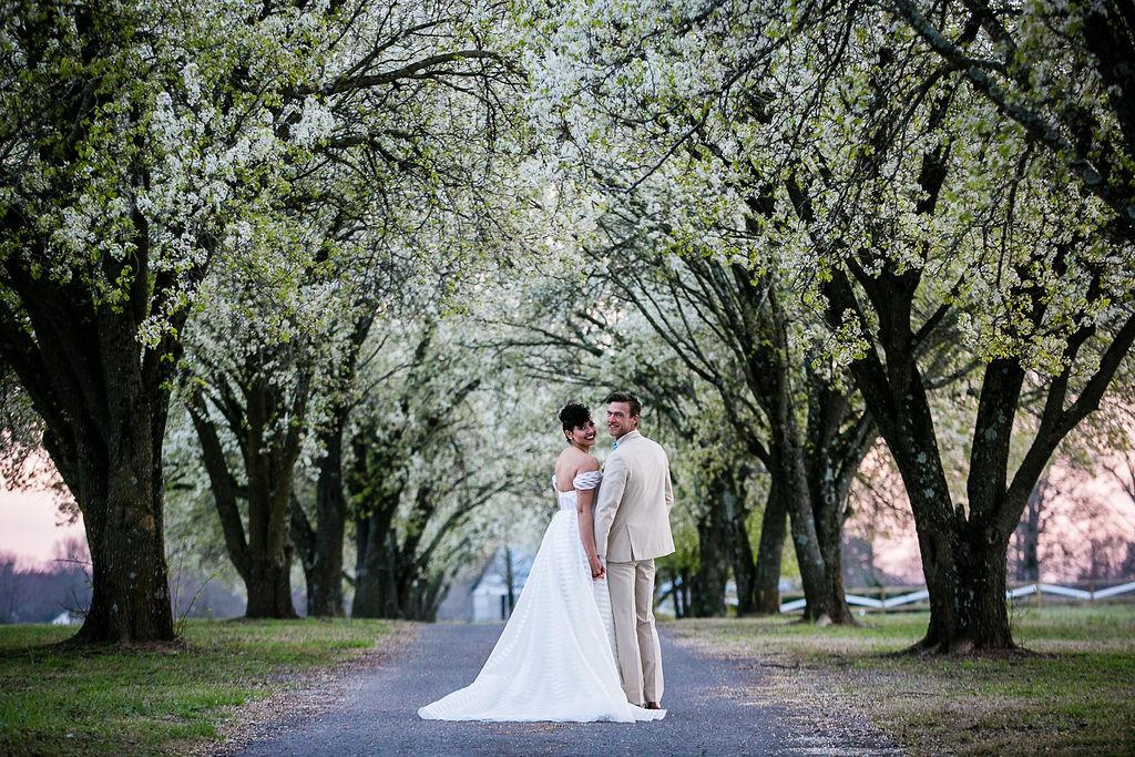 Orchard wedding, Tree Grove Wedding