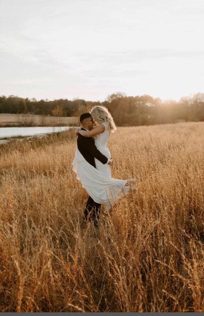 Hay field wedding, Laurel Haven Estate wedding