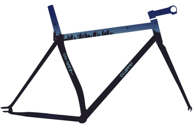 Custom Track Bike
