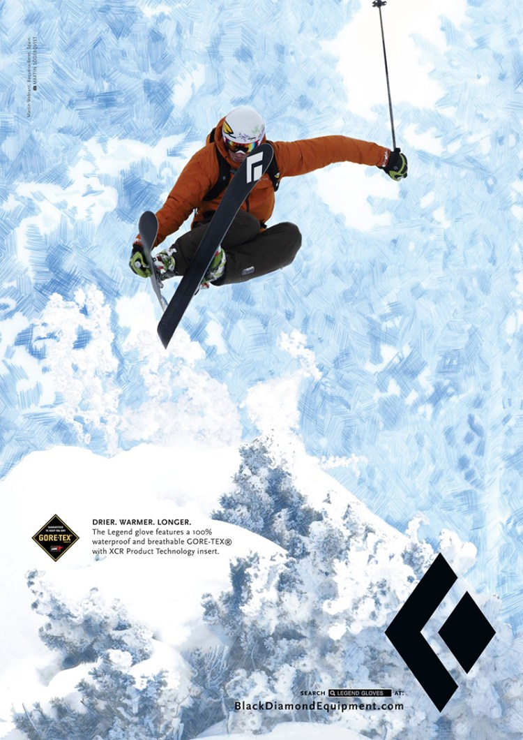 Black Diamond Print Ad