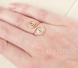keltische spiraal ring