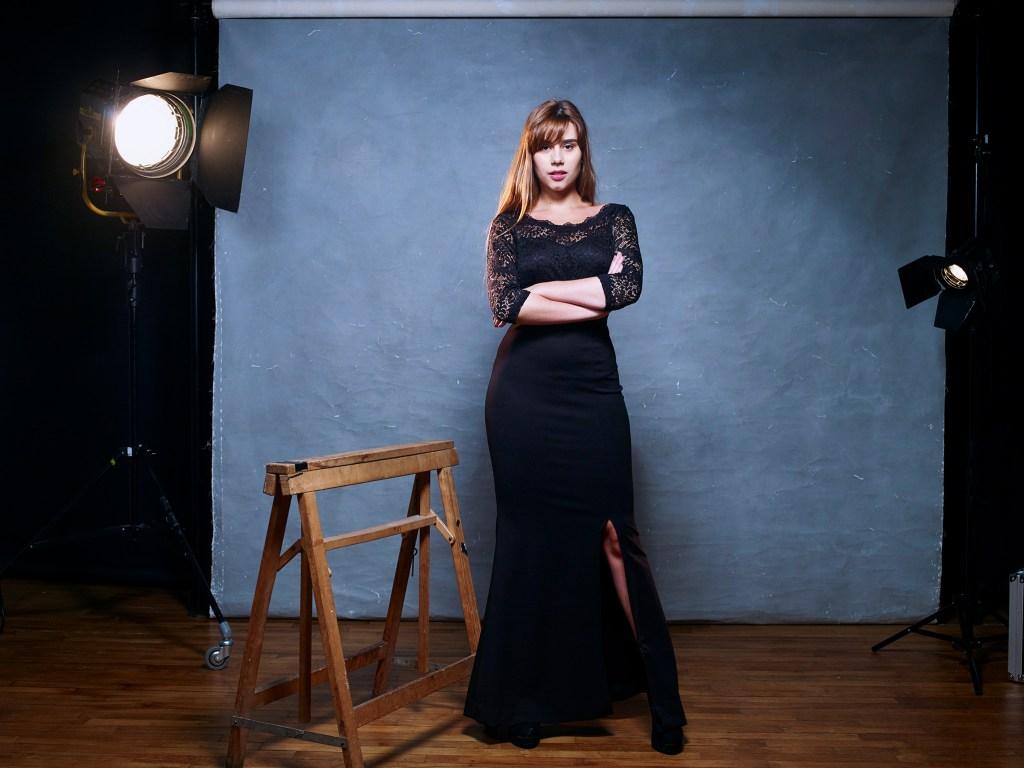 Zoé Bensimon, comédienne photographiée par Lauréline Reynaud