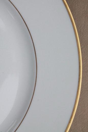 Heinrich HampCo Mark Porcelain Dinner Plates Deco Vintage
