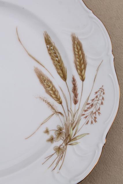 Winterling Bavaria Autumn Harvest Wheat Pattern China