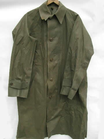 Old 1945 Olive Drab WWII Dismounted Soldiersentry Rubber
