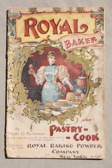 Old Antique Cookbooks Lot Victorian Edwardian Period