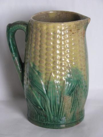 Vintage Cornware Pottery Antique China Ear Of Corn