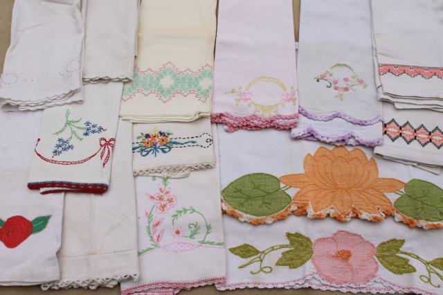 Image result for vintage tea towels