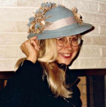"At the Courtney's on some visit ""home"", 1980s"