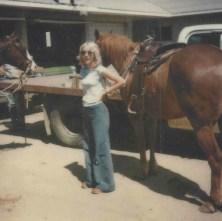 Linden, Grandma Mary's funeral, Jan 1982