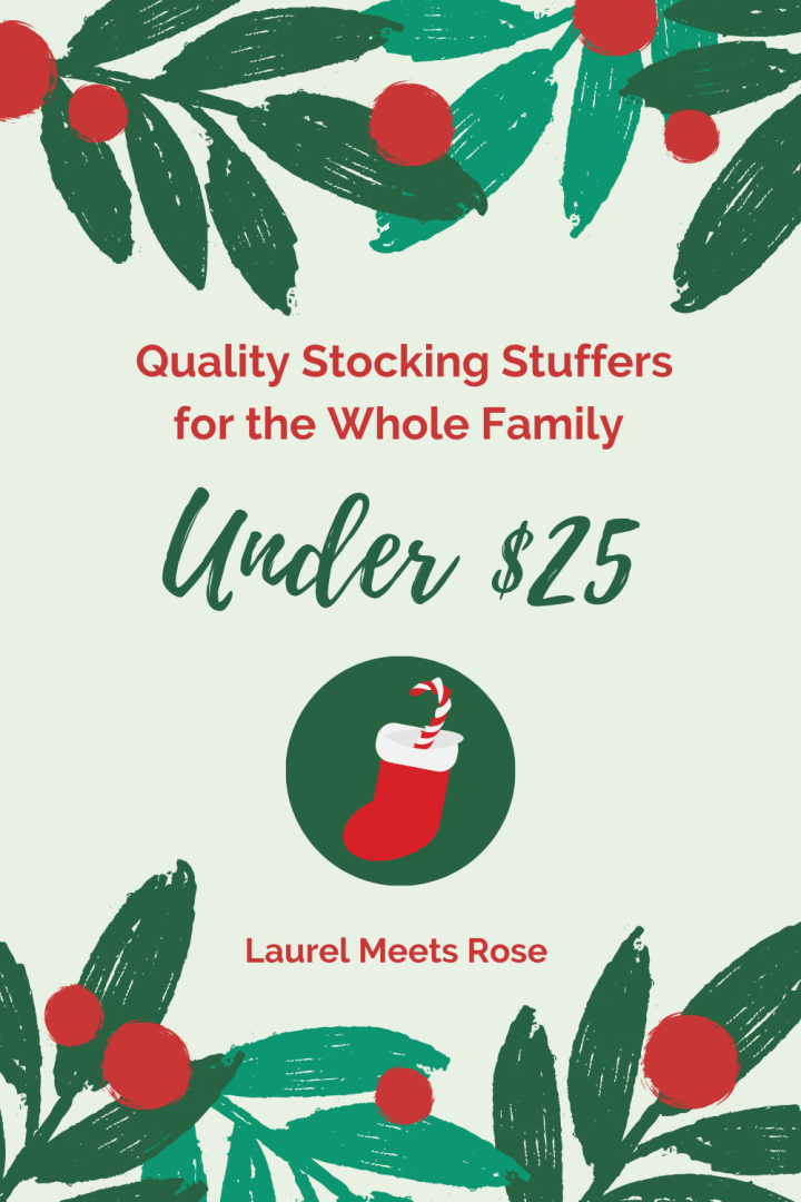 Quality Stocking Stuffers Under $25 for the Whole Family
