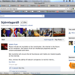 Facebook: Iceland Constitution and Gov 2.0