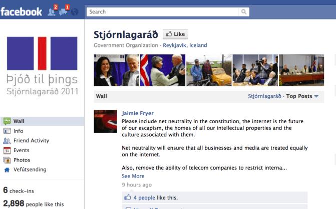 gov 2.0 social media iceland constitution