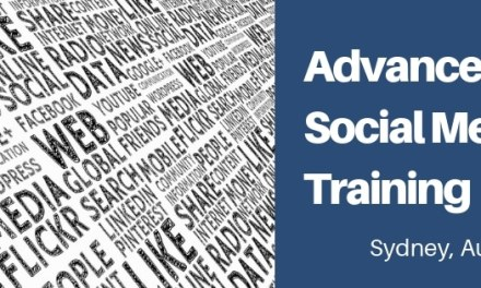 Advanced Social Media Training in Sydney August 2019