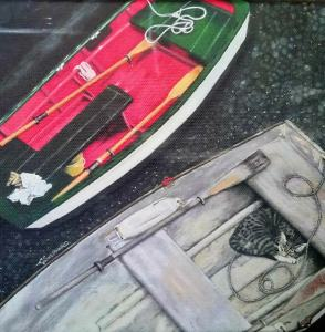 Boats by Artist Catherine Sheppard