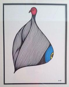 Seeing Bird by Artist Dennis Walsh