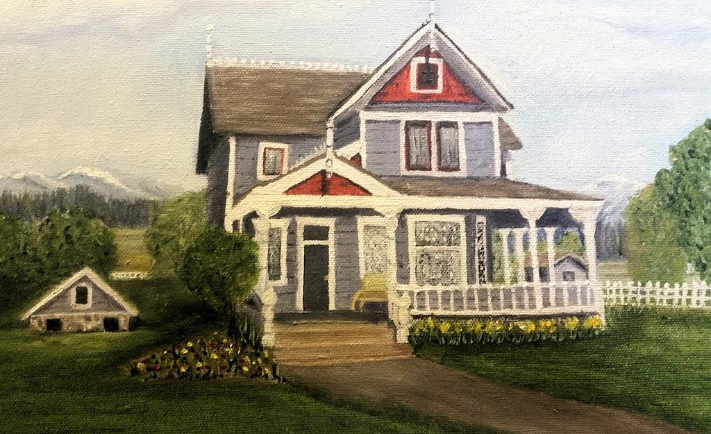 Stewart Farm by Artist Gail Judd