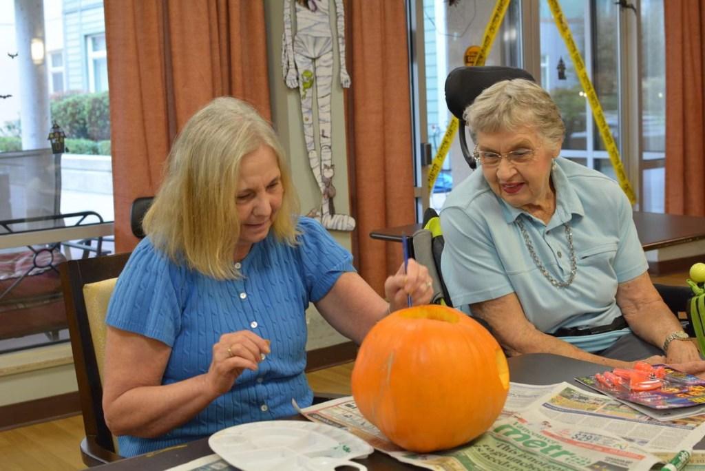 Pumpkin Carving at Laurel Place