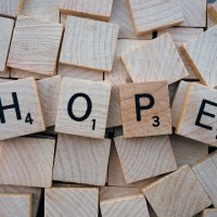 MY NEW ONE WORD:  HOPE!