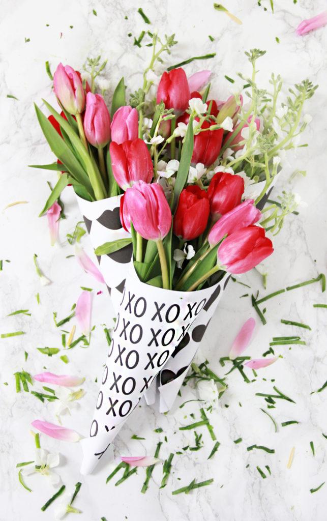photo regarding Free Printable Flower called A Bubbly LifeDIY Valentine Totally free Printable Flower Flowers