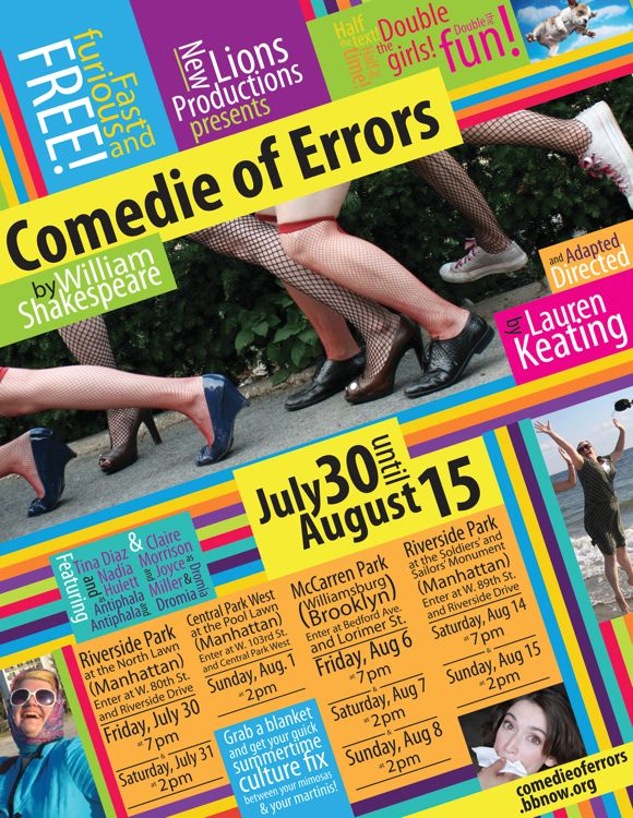 Comedie of Errors poster