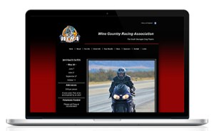Wine Country Racing Association website