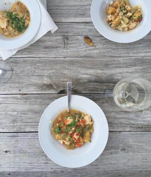 Tom Kha *Inspired Slow Cooker Stew // laurenariza.com